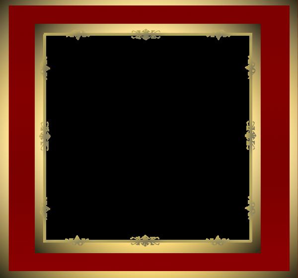 قاب قرمز مربع