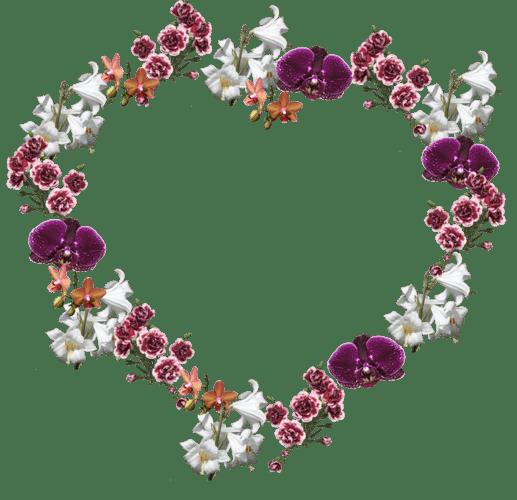 قاب گل قلب