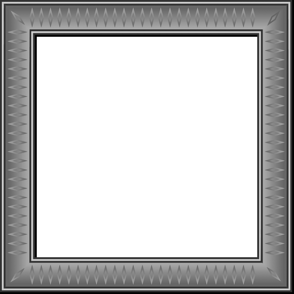 قاب خاکستری مربع