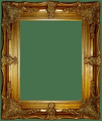 قاب تابلو طلایی
