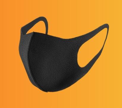 ماسک پزشکی سیاه رنگ