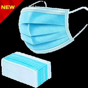 بسته ماسک پزشکی آبی رنگ