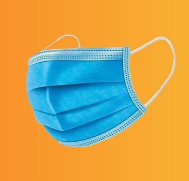 ماسک جراحی آبی رنگ