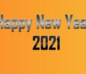 تبریک سال 2021 میلادی