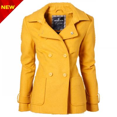 کت زرد زنانه