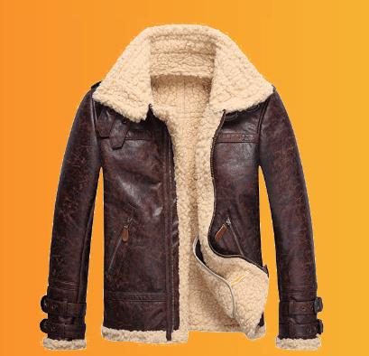 ژاکت زمستانی چرمی
